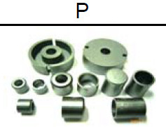 Ni-Zn ferrite core --P Series