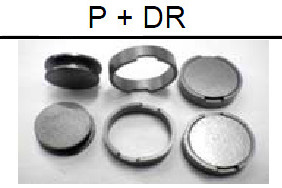 Ni-Zn ferrite core --P+DR Series